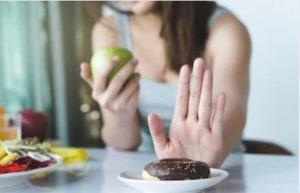Reduziere die schlechten Lebensmittel