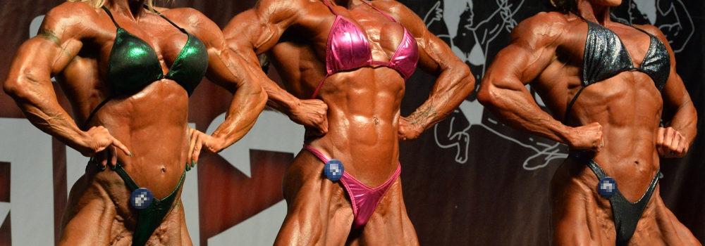 Frauen Muskeln