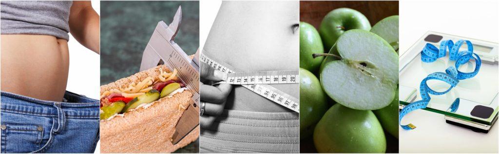 gesunde Ernährung Waage