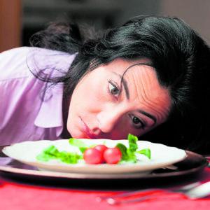 fasten diet salad fast muskelabbau