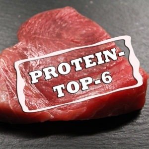 Top 6 Proteinhaltige Lebensmittel