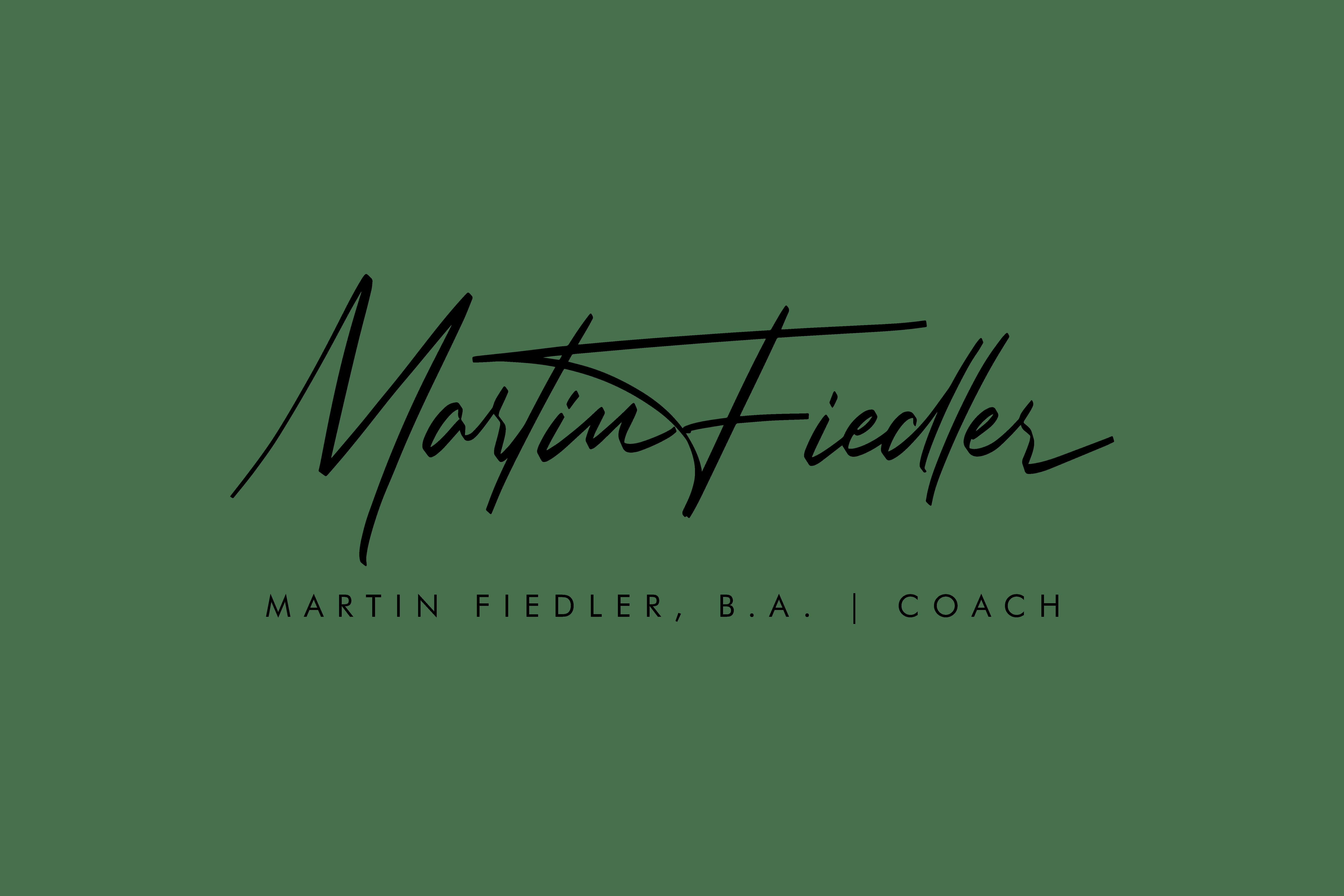 Unterschrift Martin Fiedler